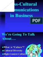 Cross-Cultural Comm in Business