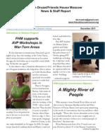 FHM Dec 2011 Newsletter