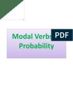 Modal Verbs of Probability by SALIB