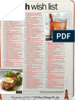 100 Best things we ate (and drank) in 2011