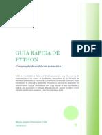 Guía Rápida de Python