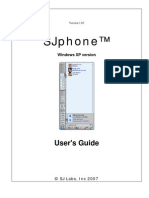 SJphone User Guide