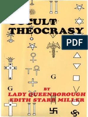 D Antoni Rattan A Castelvetrano.Occult Theocracy Satanism Freemasonry