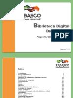 090531 Proyecto de Biblioteca Digital Para El Estado de Tabasco