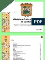 090531 Biblioteca Digital Para El Estado de Coahuila