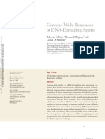 25 Genome-Wide Responses to DNA-Damaging Agents ARM