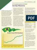 Brazil Hits Membership Milestone