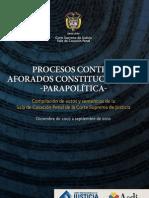 Libro parapoltica CSJ