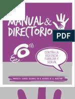 Manual y Directorio Contra La Violencia Familiar y Sexual