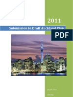 Ben's Auckland Plan Submission