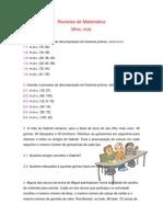 Revisões de Matemática1