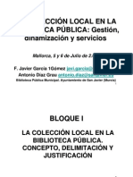 CursoGestioncoleccion Local