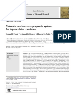 Molecular Markers as a Prognostic System for He Pa to Cellular Carcinoma