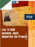 Brochure Deported Jews Paris