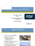 Integrating Search & Email Marketing