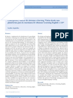 Concepcion y diseño de sistemas elearning