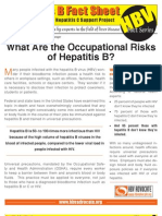 Occupational Risk of Hepatitis B