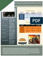 Blitz Krieg Sheet