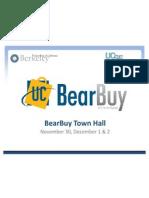 BearBuy Townhall Series II
