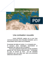 Premices d'Une Civilisation Nouvelle Article