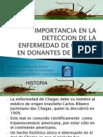 Import an CIA en La Deteccion de Chagas