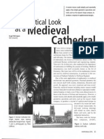 A Mathematical Look at a Medieval Cathedral