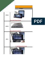 Catalogo Tablet 2011