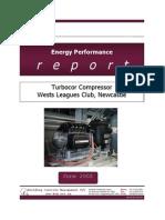 Turbocor Performance Report