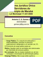 Regime.juridico.unico.municipio.maraba