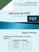 Ejercicio de SPSS 1