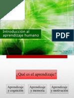 Introduccion Al Aprendizaje Humano