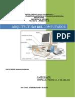 arquitectura de computador