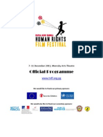 Official Programme PNG Human Rights Film Festival 2011