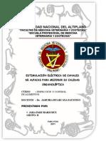 ESTIMULACIÓN ELÉCTRICA DE CANALES  DE ALPACAS PARA MEJORAR SU CALIDAD ORGANOLEPTICA (MARICRUZ JARA  PARI)