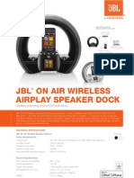 On Air Wireless - Specification Sheet