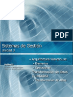 3.2 Arquitectura Data Warehouse