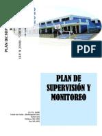 plan de supervisión y monitoreo 2010-i.e. 20188