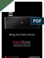 Beatbox Product Sheet