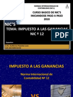 NIC 12 CPC Guillermo Pesantes Luna
