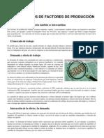 Ficha Mercado de Factores de Produccion
