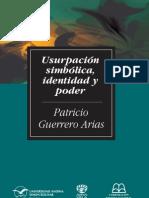 Guerrero Usurpación simbólica, identidad y poder