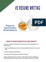Resume Slides