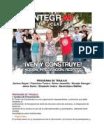 Programa IntegrAP Lista V CEAP USACH 2012