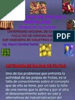 OBTENCIÓN DE PULPAS DE FRUTAS