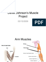 Derek Johnson's Muscle Project