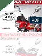 Manual de Usuario Horse 150 2010