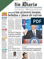 Primera Plana Listin Diario 05-12-2006