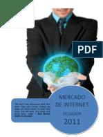 201112 Mercado Internet Ecuador 2011