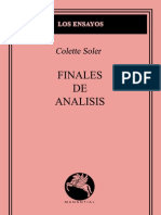 Finales de Analisis
