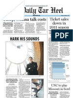 The Daily Tar Heel for December 6, 2011